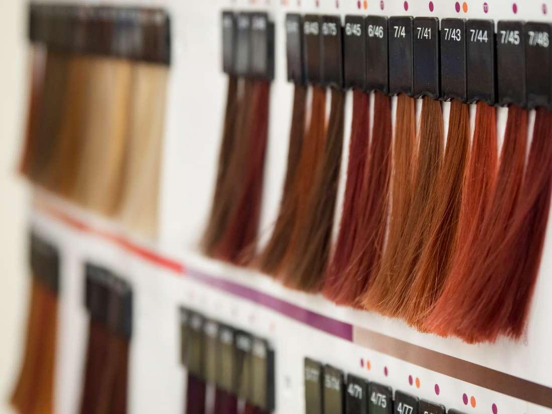 wybór koloru włosów - jak dopasować kolor włosów - paleta kolorów włosów