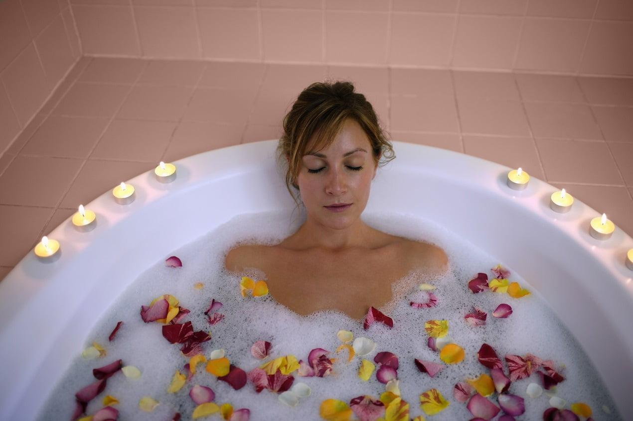 kąpiel - relaks